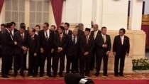 Saat OSO dan Wiranto Jauh-jauhan di Pelantikan Menteri Baru