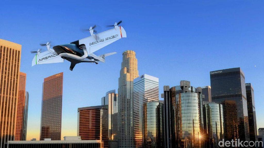 Keren, Taksi Terbang Tarifnya Sama Seperti UberX