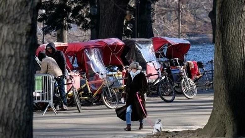 Seperti Ini Penampakan Becak di New York yang Dikenang Sandiaga