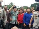Sambangi Pendemo Cantrang, Susi Disambut Selawat