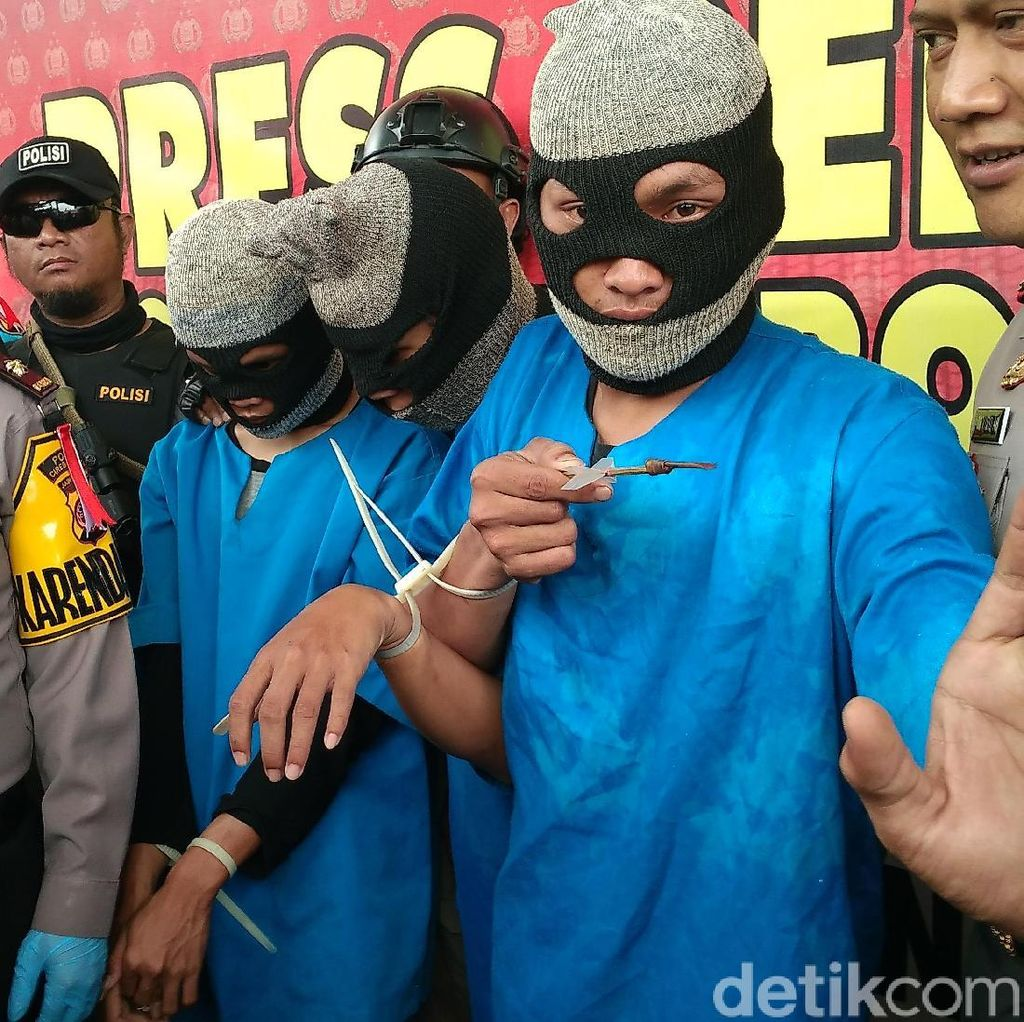 Polisi Tangkap Tiga Pemanah Siswa SMK Cirebon