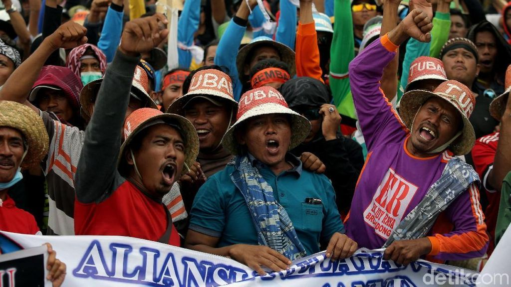 3 Perwakilan Nelayan Cantrang Temui Jokowi di Istana