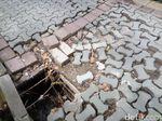 Dear Pak Wali, Trotoar di Solo Ini Rusak dan Bahayakan Pejalan Kaki