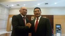 Jokowi Dikelilingi Purnawirawan Jenderal, Moeldoko: Ini Kehormatan