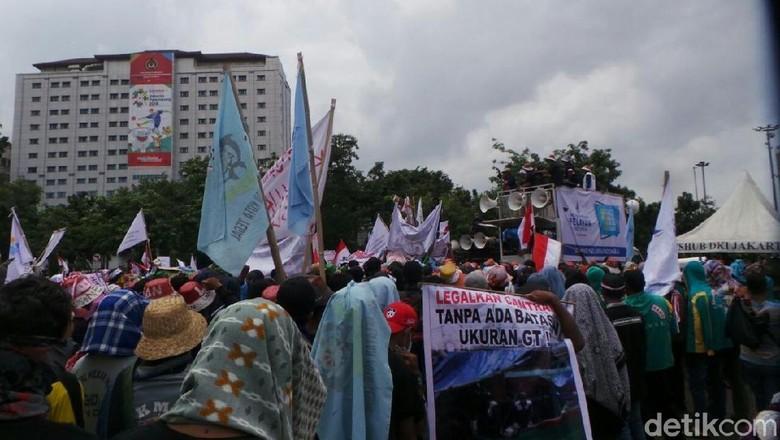 Nelayan Pendemo Tolak Larangan Cantrang akan Ditemui Jokowi