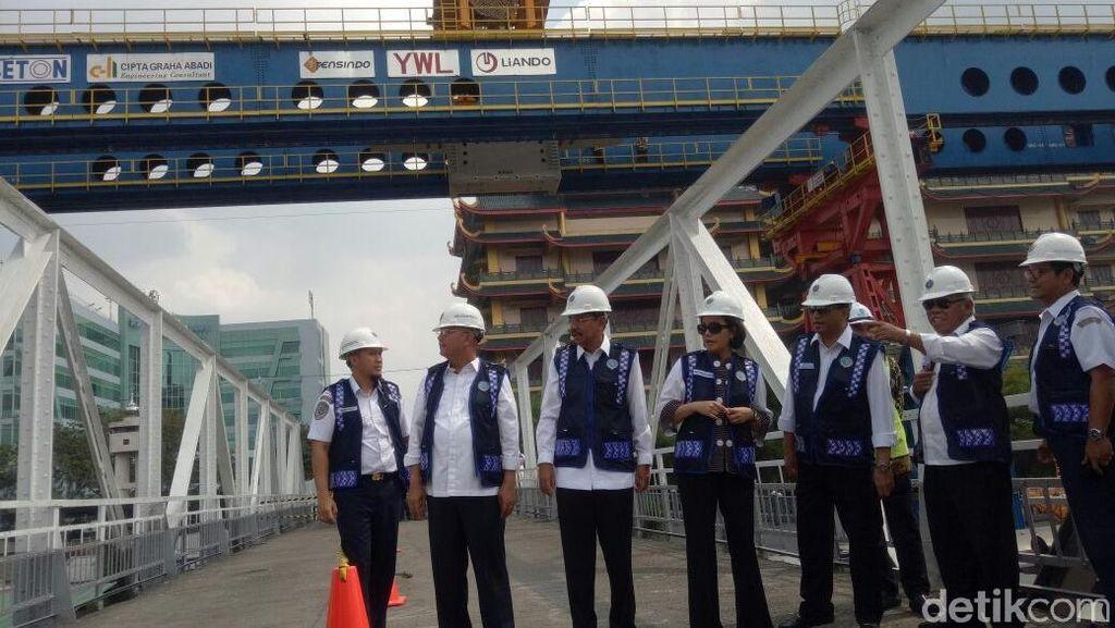 Pembangunan Jalur KA Layang Medan Ditargetkan Selesai November 2018