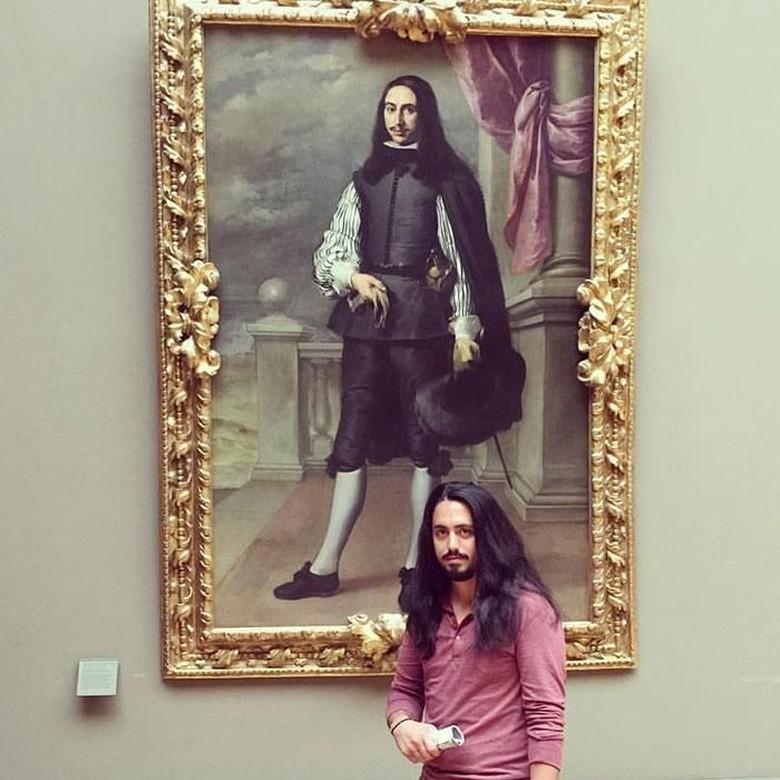 Selfie di Museum, Kira-kira Kamu Mirip Seniman Siapa ya?
