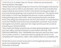 Hoax! Ancaman Ucapan Selamat .gif di WhatsApp