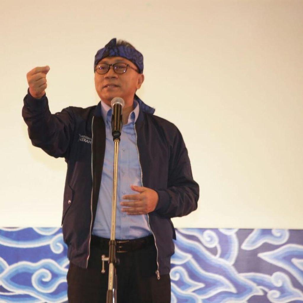 Zulkifli Hasan Sebut Penolakan Jokowi Soal UU MD3 Terlambat