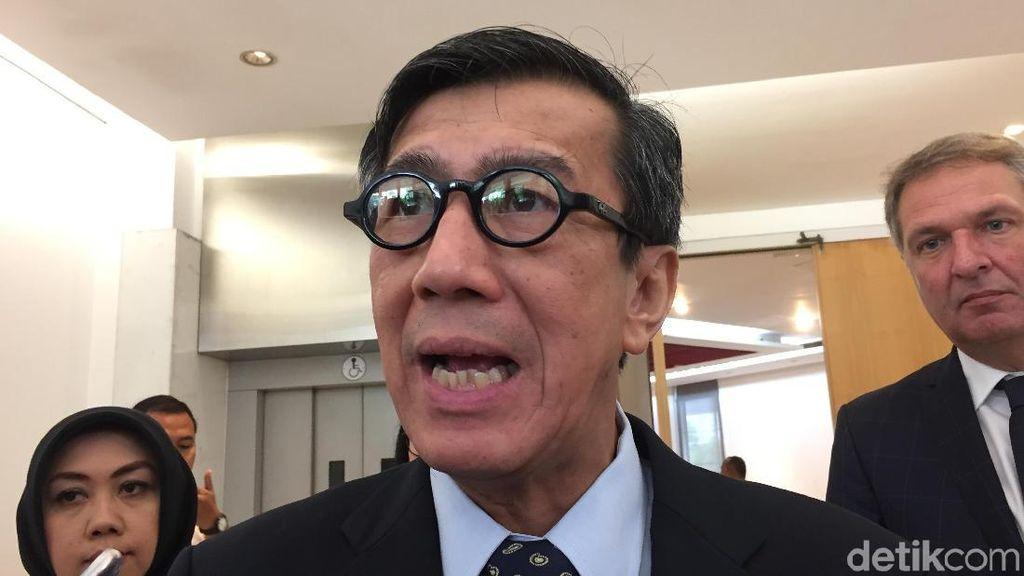 Alasan Yasonna Tak Ajukan Keberatan Saat UU MD3 Disahkan di DPR