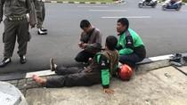 Ngebut di Depan Balai Kota, Johosua Tabrak Driver Ojek Online