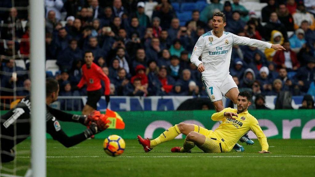 Statistik di Balik Buruknya Performa Madrid di Depan Gawang