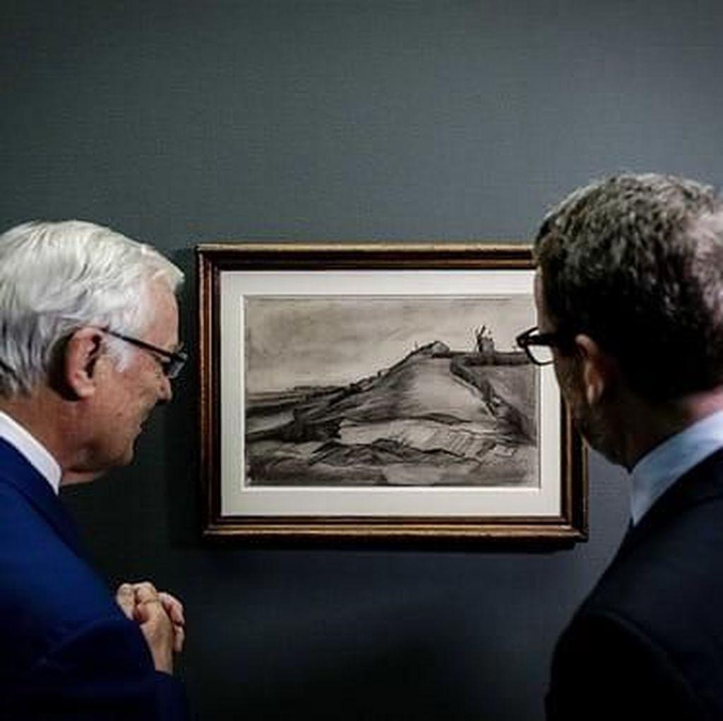 Pasca Seabad, Sketsa Langka Van Gogh Dipajang Perdana di Belanda
