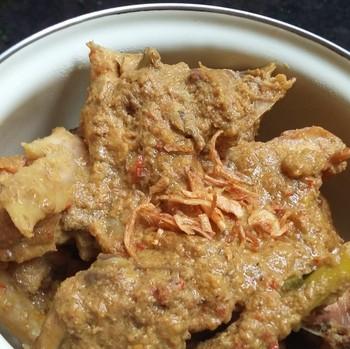 Resep Ayam : Rendang Ayam Kampung