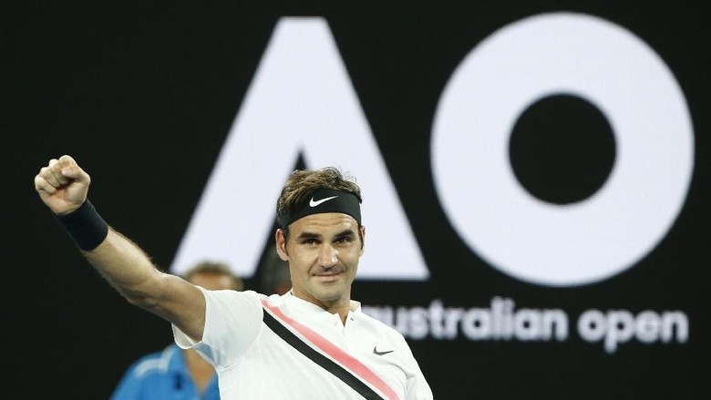 Pijak Babak Ketiga, Federer Akan Jumpa Gasquet