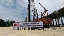 Tuntut Ganti Rugi, Warga Gresik Protes Pembangunan Tol KLB