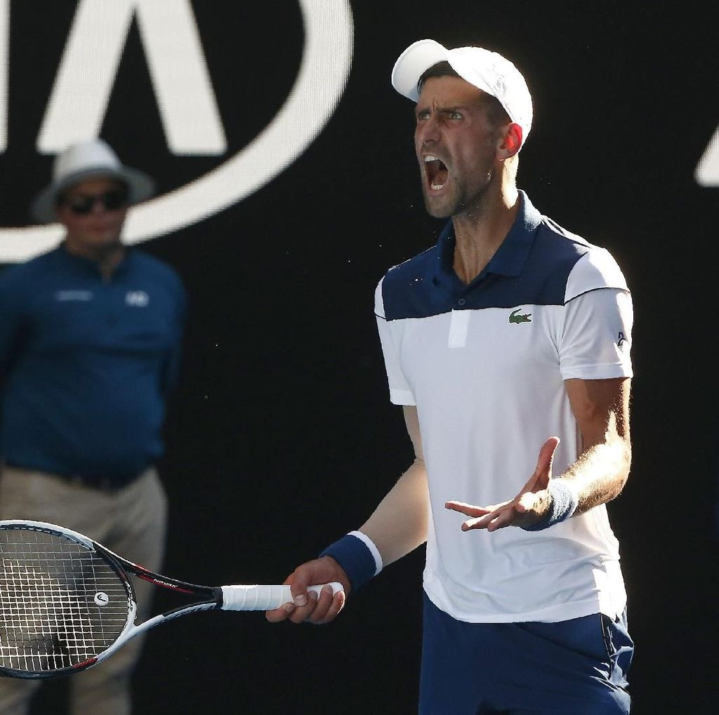 Singkirkan Monfils, Djokovic Lolos Babak Ketiga