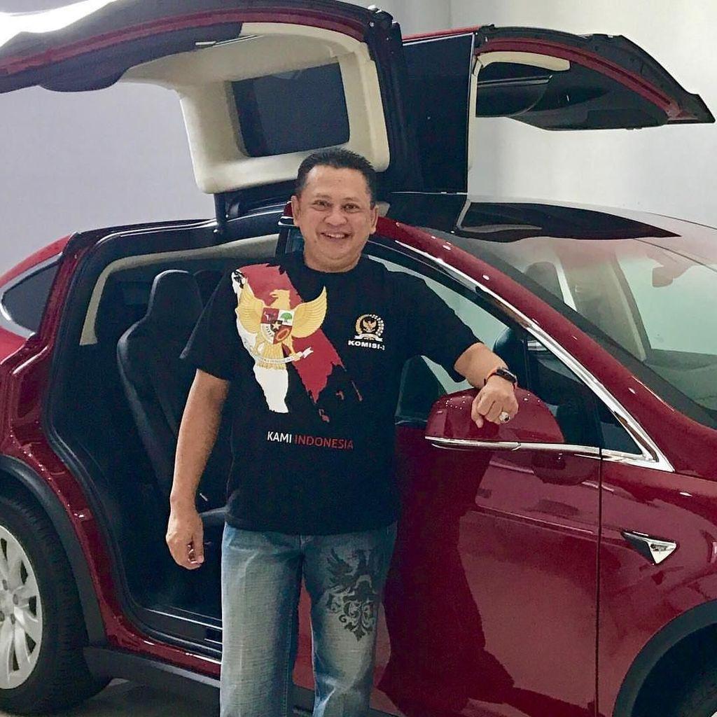 Punya Mobil Tesla, Ketua DPR Bamsoet akan Lapor ke KPK