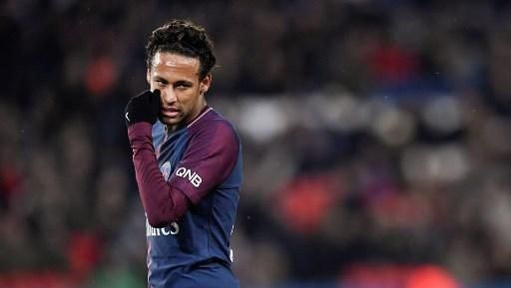 Reaksi Neymar Usai Dapat Siulan Penonton