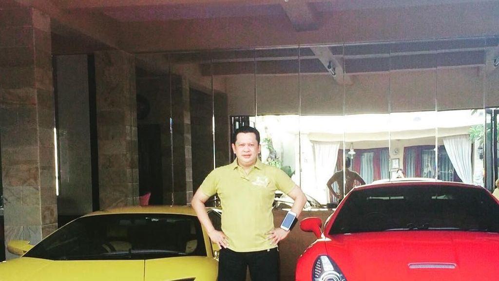 Sisi Lain Ketua DPR Bamsoet: Menembak, Ferrari, dan Jet Pribadi