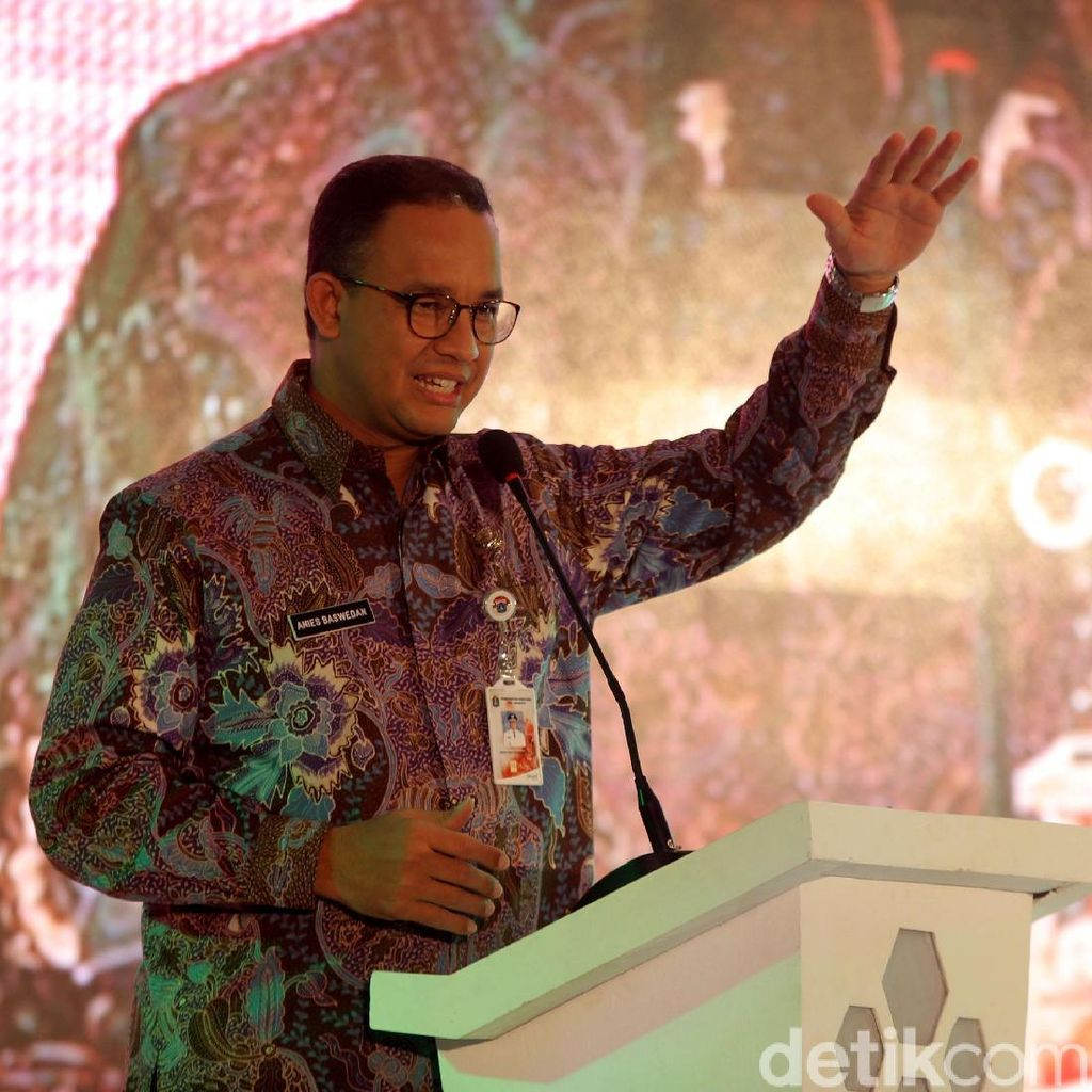 Anies Soal Dugaan Maladministrasi di Tn Abang: Biar Ombudsman Saja