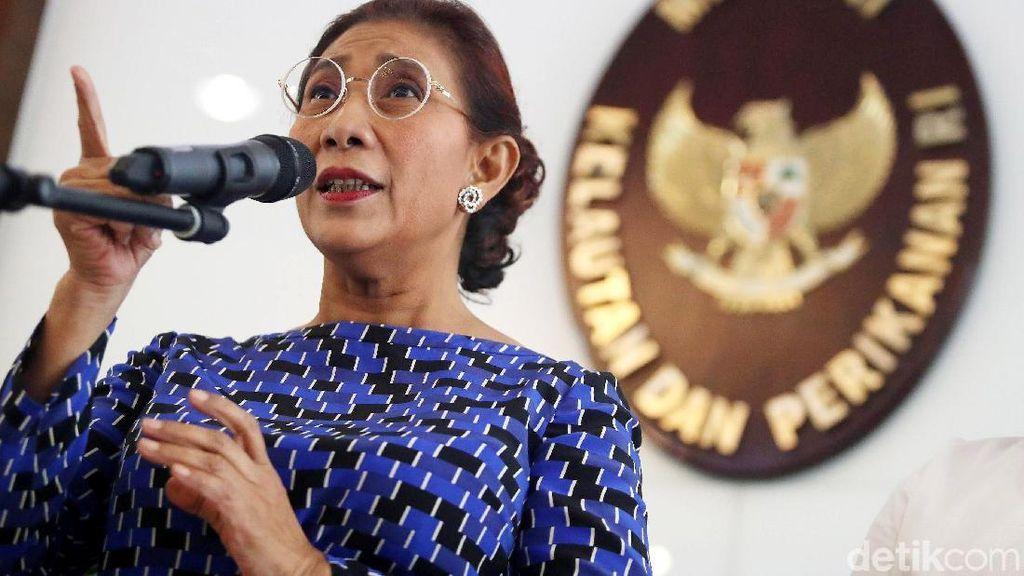 Susi Akan Tenggelamkan Kapal Cantrang yang Melaut di Luar Jawa