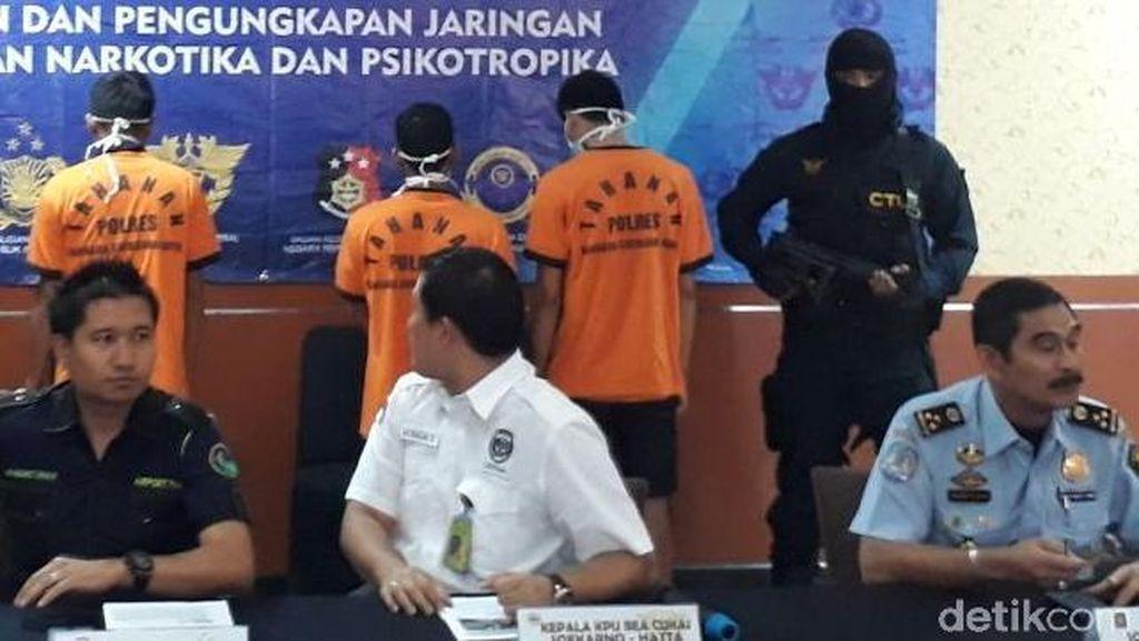 Bea Cukai-Polres Bandara Cengkareng Gagalkan Penyelundupan Sabu