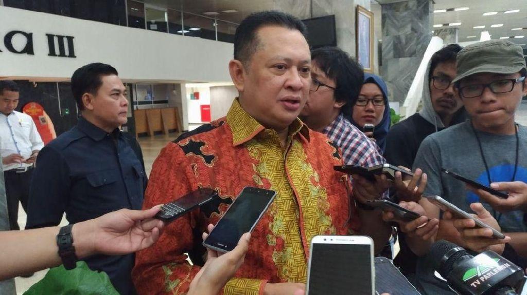 Ketua DPR: Tambahan Pimpinan MPR Antara 2-3 Kursi di Revisi UU MD3