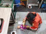 Lakukan 18 Adegan Rekonstruksi, YT Terbukti Sengaja Gorok Bayinya