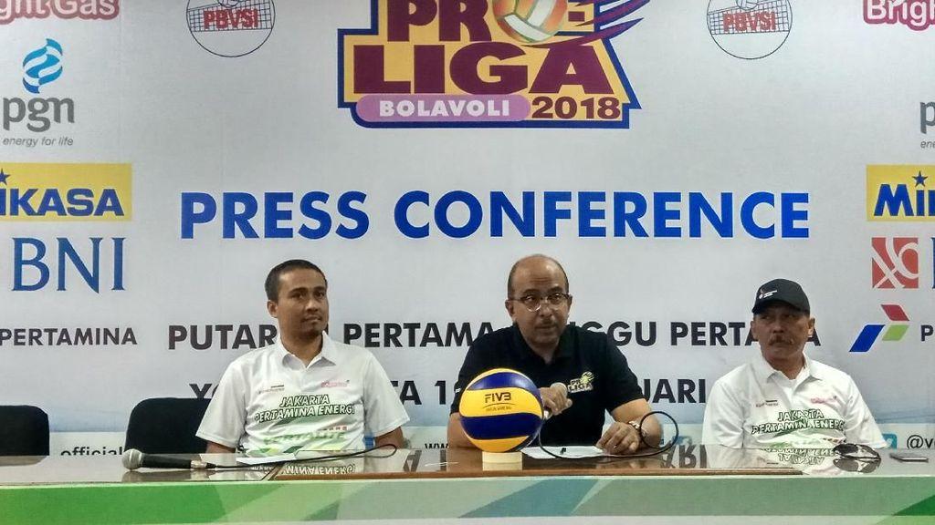 Duel Tim Putri Pertamina Energi vs Elektrik PLN Awali Proliga 2018