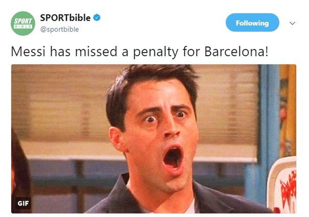 Fans Barca pasti kaget waktu mendengar berita ini. (Foto: Twitter)