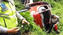 90 Menit Aksi Tegang Mobil Polantas Jabar Kejar Truk Curian