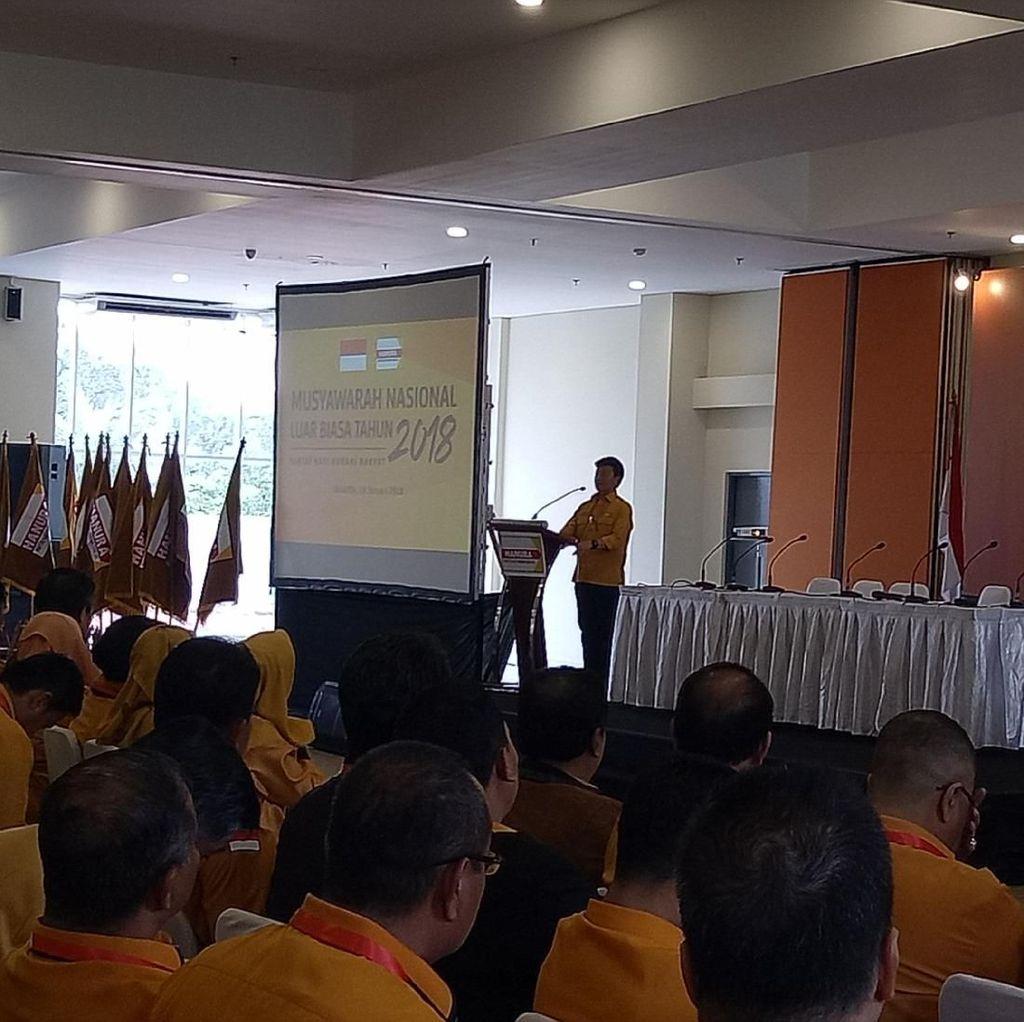 Hanura Ambhara: Penunjukan Wiranto sebagai Ketum Konstitusional