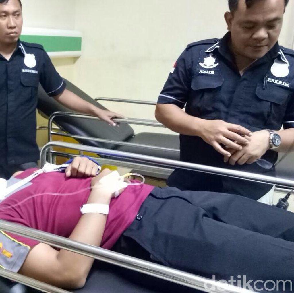 Terobos Busway dan Tolak Ditilang, Pemobil Seret Polisi hingga Luka