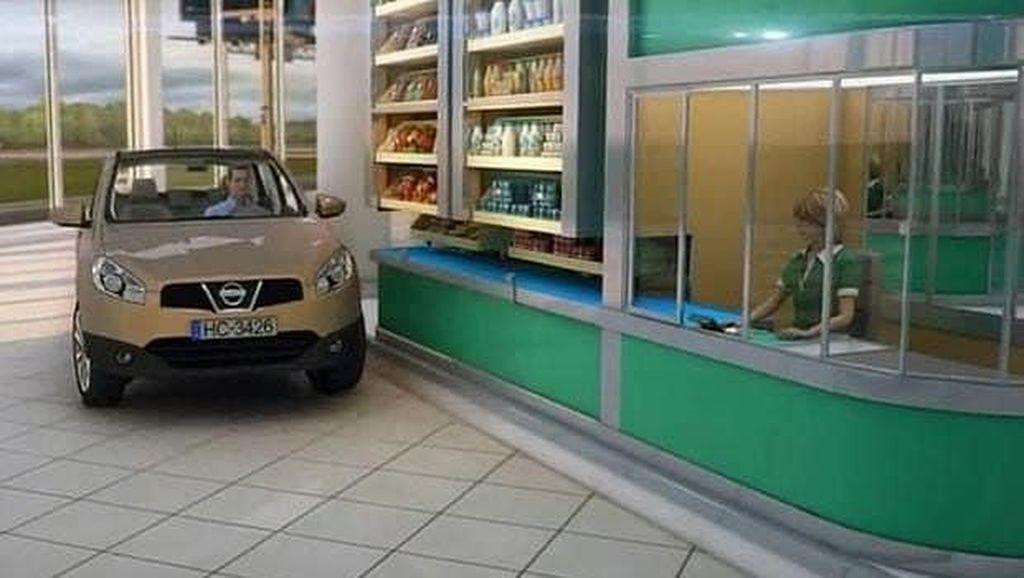 Seperti Inikah Bentuk Supermarket di Masa Depan?