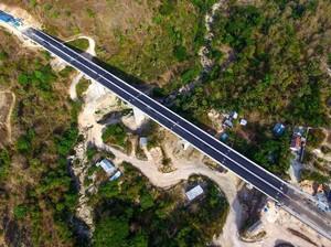 Indahnya Jembatan Petuk di NTT Senilai Rp 235 Miliar