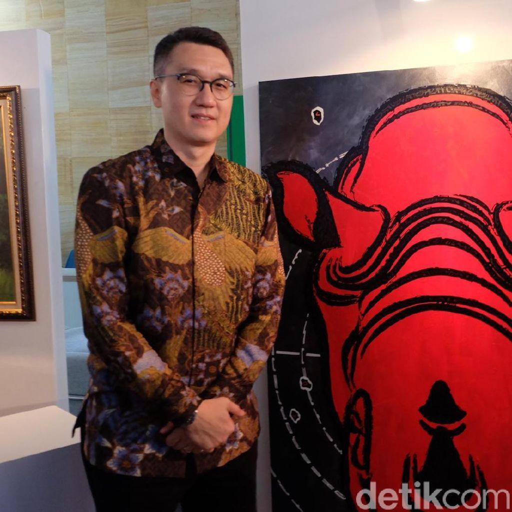 Pakai Kacamata 3D, Lukisan Badak Sumatera Ini Lebih Hidup