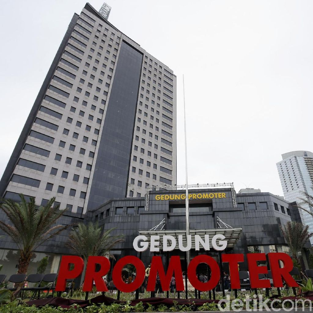 Pembangunan gedung Promoter Polda Metro Jaya memakan waktu hingga 13 tahun