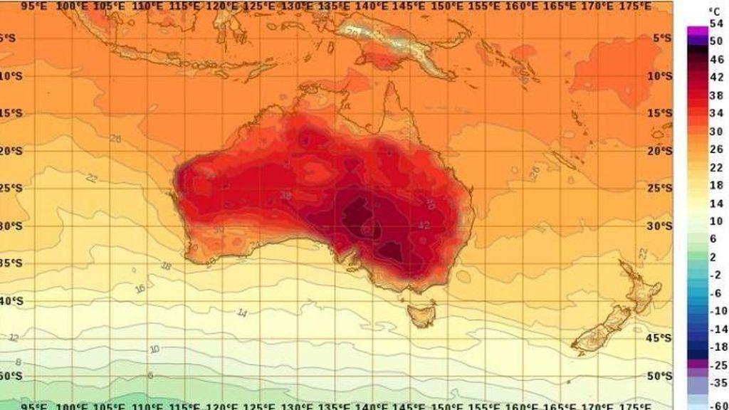 Suhu Sejumlah Tempat Australia Akan Capai di Atas 40 Derajat Celsius