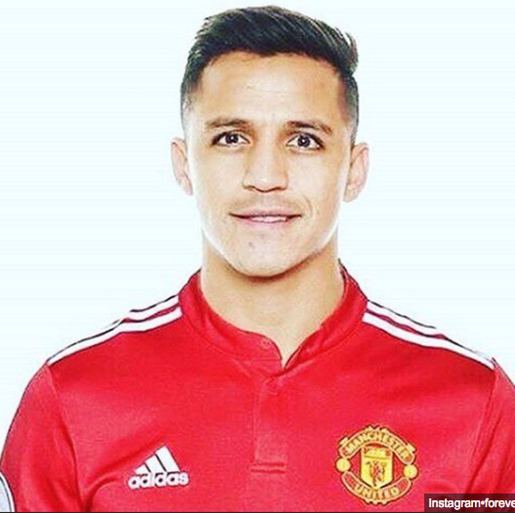 Alexis Sanchez Follow Instagram Manchester United