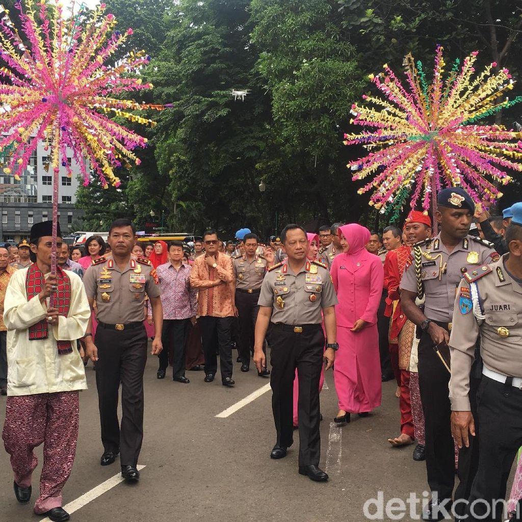 Kapolri Resmikan Gedung Promoter Polda Metro Jaya