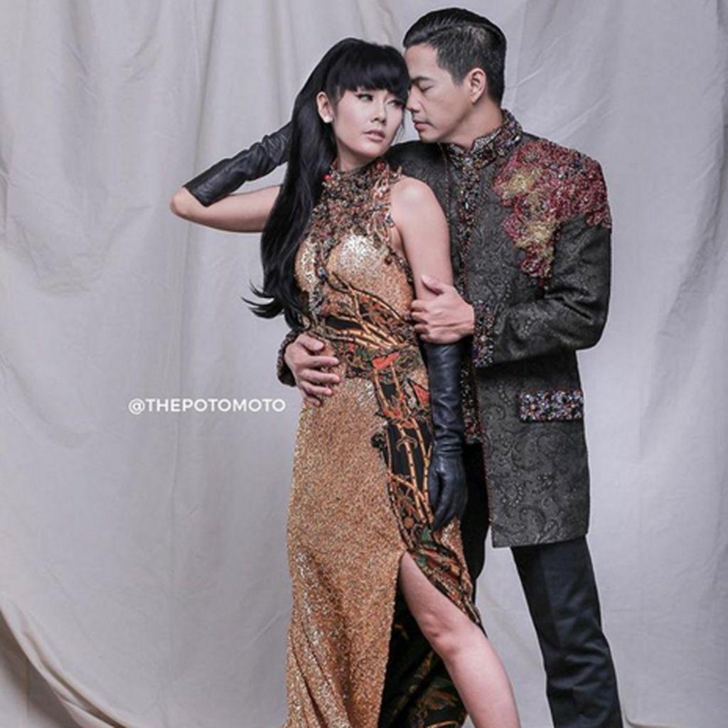 Diiringi Hujan dan Angin, Ardina Rasti Resmi Menikah dengan Arie Dwi Andika