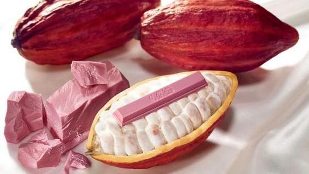 Bikin Gemas! Kit Kat Ruby Berwarna Pink Cantik untuk Sambut Valentine