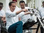 Ini Alasan Jokowi Beli Motor Chopper Emas dari Bengkel Lebak Bulus