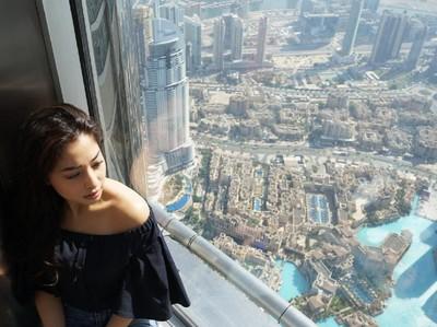 Foto: Liburan Si Cantik Nikita Willy di Dubai
