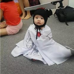 Ketika Anak-anak Pesta Kostum, Seram atau Lucu, Bun?