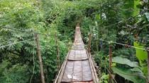 Kata Pemkot Jaksel soal Jembatan Gantung Mengerikan di Jagakarsa