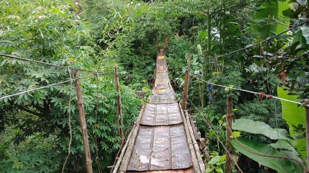 Sandi Ingin Pembangunan Jembatan Mengerikan di Jagakarsa Dipercepat
