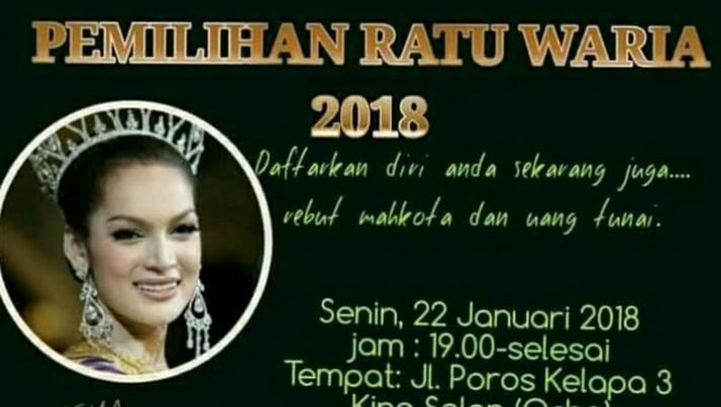 Pemilihan Ratu Waria di Makassar Dibatalkan