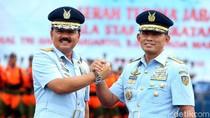 Ini Titipan Pesan Panglima TNI Marsekal Hadi ke KSAU Yuyu Sutisna